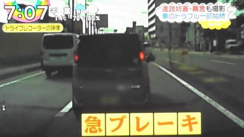 車の煽り運転してる奴って前の車からいかつい奴出てきても怖くないの?