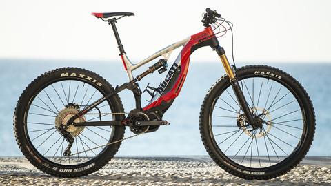 ドゥカティの電動アシストマウンテンバイク(゚∀゚) 重量22.5kg モータ出力250W 最大トルク7.1kgm
