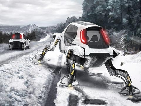 韓国ヒュンダイが「歩く車」を発表