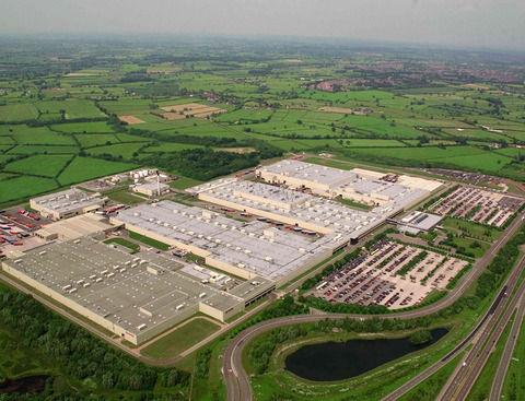 トヨタ自動車、英国バーンストン工場への約340億円の新規投資を決定 生産設備を刷新