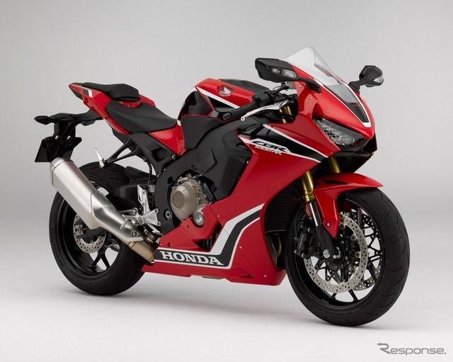 ホンダ、大型スーパースポーツ「CBR1000RR」をフルモデルチェンジ…軽量化とマス集中化で戦闘力アップ
