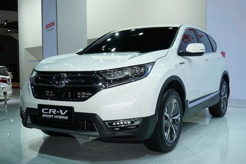 ホンダ、新型「CR-V ハイブリッド」世界初公開!