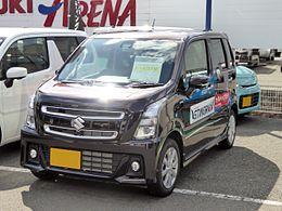 Suzuki_WAGON_R_STINGRAY_HYBRID_X_(DAA-MH55S)_front