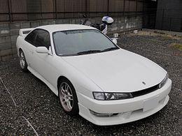 Nissan_Silvia_K's_SE_(S14)_front