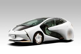 トヨタ 公道を走れる電気自動車EVのコンセプトカーLQ 人工知能ゆい と自動運転を搭載