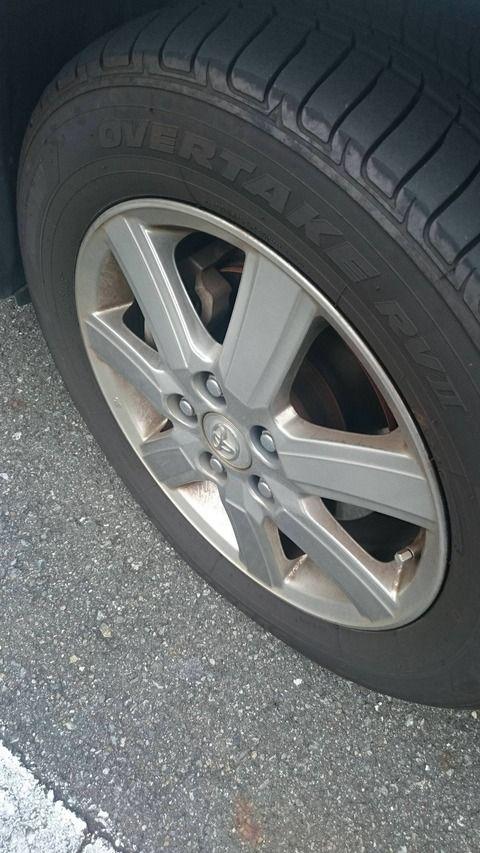 車のタイヤをホイール径を変えずに太くできない???