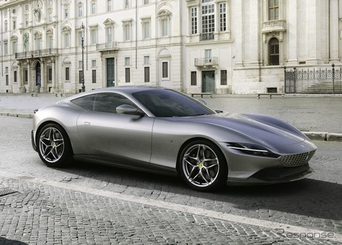 【画像】フェラーリの新型車「ローマ」をご覧下さい