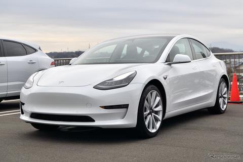 米テスラの時価総額、VW上回る 自動車で世界2位に