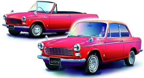 ダイハツ乗用車第1号は美しきイタリアン 1964年発売「コンパーノ」