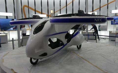 NECが空飛ぶ車を開発 これで勝つる!