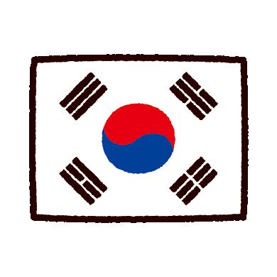 illustkun-01080-korea-flag
