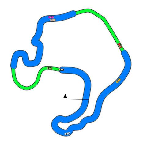 レースゲームって「幅が凄い狭くて車一台しか通れない道」って無いよなwwwwwwwwwww