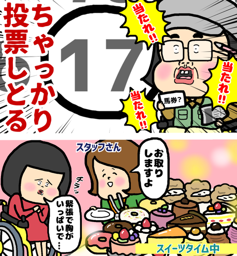 恋活パーティーのスイーツタイム