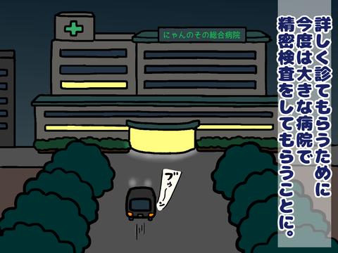 大きな病院で精密検査