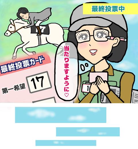 恋活パーティーの最終投票