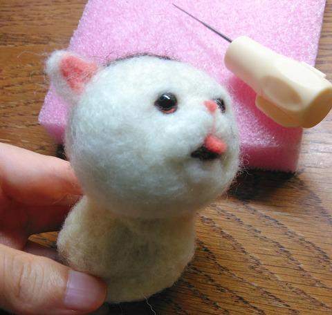 ドラマ『おじさまと猫』のふくまるの羊毛フェルト
