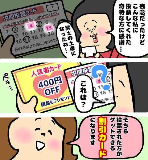 恋活パーティー人気者カード