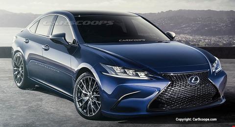 Carscoops-2019-Lexus-ES-0