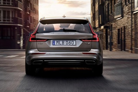 2019-volvo-v60-t6-awd-grey-rear