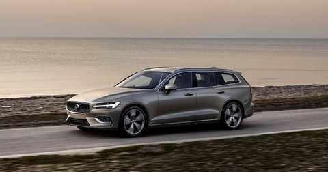 2019-volvo-v60-t6-awd-grey-front-left-driving