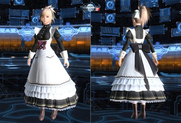 クラシックメイドドレス