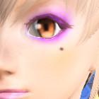 パーティメイク 紫