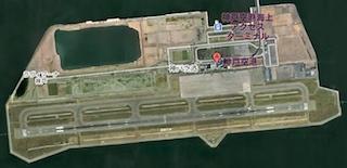 神戸空港GoogleMap