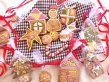 ③クリスマスお絵かきクッキー