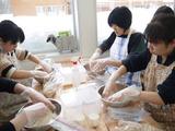 ①塩切り麹作り