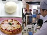 モッツァレラチーズとピザ