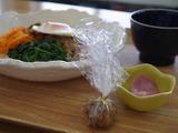 ビビンバ・味噌汁・漬物