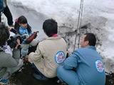 0317雪中野菜11