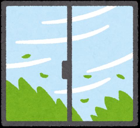 【動画】「せや!台風に窓洗って貰おう!!」→台風直前、網戸に中性洗剤を掛けておいた結果wwwwwwwww