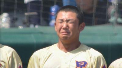 【高校野球】奥川がこの夏にグラウンドで泣いた回数wwwwww