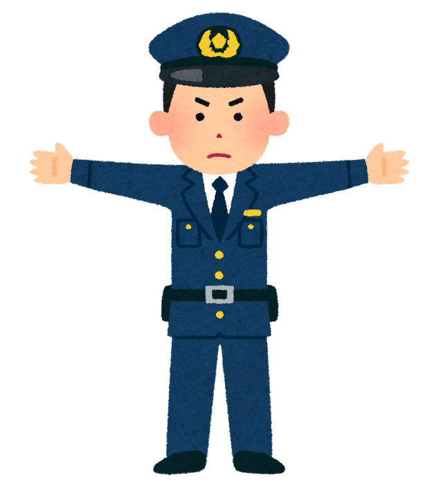 男性「家に帰らせろ」警部(56)「裸になれば脱いだ服売ってきて交通費にあててやるよ 」