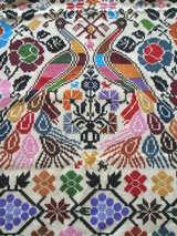 孔雀織物2
