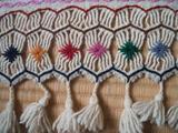 孔雀織物拡大