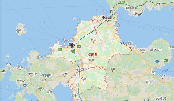 Googlemap福岡