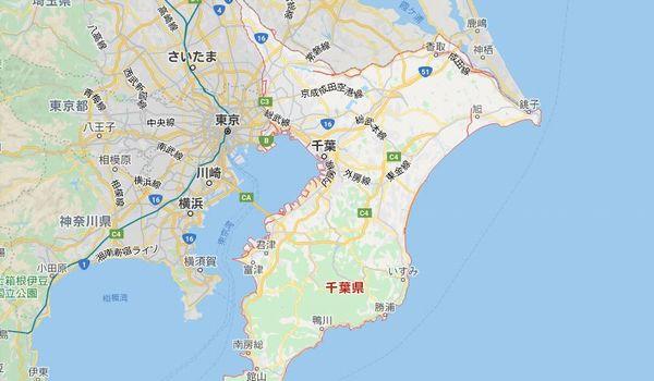 Googlemap千葉