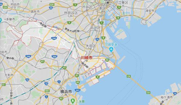 Googlemap川崎