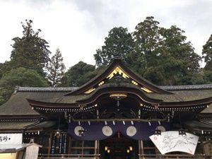 大神神社拝殿2018年