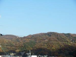 11月末に生駒山