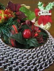 クリスマス飾りとオールメタルハーフチョーク4