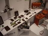 リラッペ企画ブース内左側の展示品(上から見た写真)