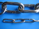 鎖の比較3mmと8mmリンクチェーン