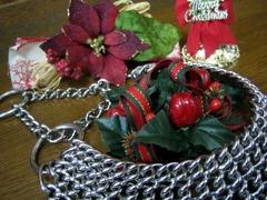 クリスマス飾りとオールメタルハーフチョーク5