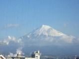 20080205朝の富士山(700系新幹線から)