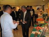 ブース訪問して下さった平松大阪市長
