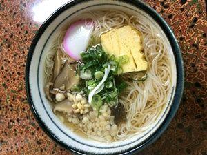 栄寿司のにゅう麺