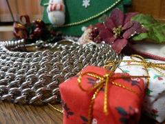 クリスマス飾りとオールメタルハーフチョーク2
